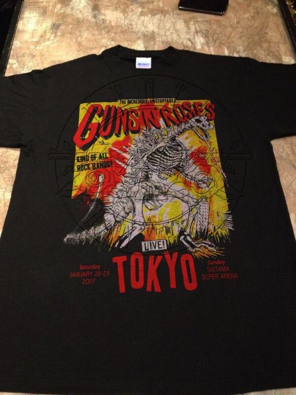 Guns N Roses Tour 2017 Tokyo Saitama Japón No En Esta Gira De Por Vida S Xxl Camisetas Aliexpress