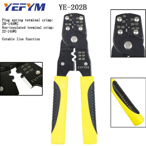 Image 5 - YEFYM Repair Tools Multi Wire Stripper Pliers Cutter Clamp 6mm2 Functional Mini Carbon Steel Multifunctional Electrical