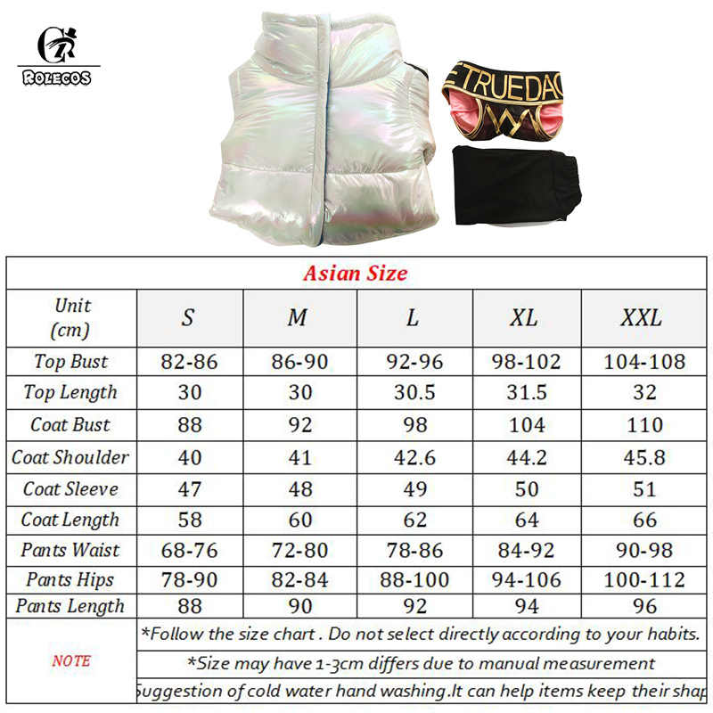 ROLECOS True Damage Qiyana Cosplay Costume LOL Cosplay Game Qiyana Costume Women Winter Coat Pants for Halloween True Damage