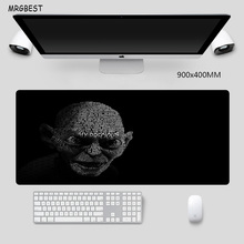 MRGBEST Large Mouse Pad Big Size 90x40cm XXL Skull Bones Printed Mats with High-end Precision Hemming Soft Rubber for Gaming