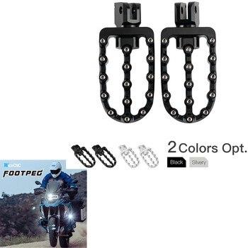 CNC 100mm*58mm Foot Pegs Footpegs Foot Rests Adjustable Foot Peg FOR BMW K1600GT R1100R R1100RS R1100RT R1150RT R1200RT R850R