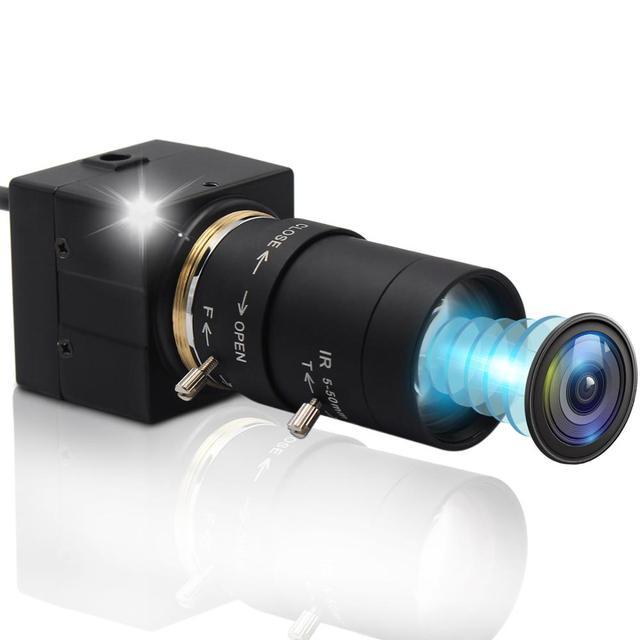 CCTV 2.8 12mm Varifocal Lens Full Hd 1080P CMOS OV2710 30fps/60fps/120fps Industrial Usb Camera UVC for Android ,Linux, Windows