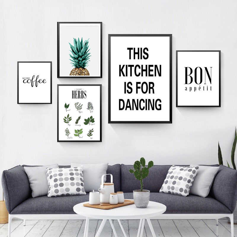 Beautify Herbs Poster Botanical Kitchen
