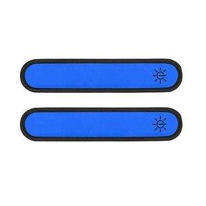 Светильник вверх светодиодный нарукавные повязки для бега Светоотражающие Шестерни мигающий светодиодный спортивные Напульсники обертывания Фитнес обучение запястье защитная лента|Походные грелки для рук|   | АлиЭкспресс