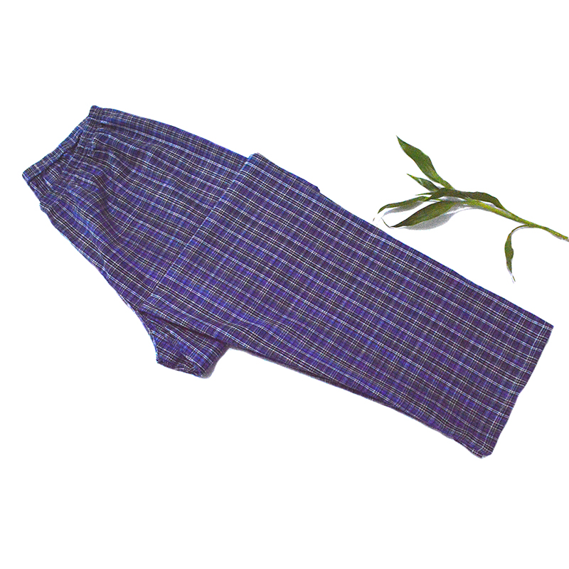 Men Sleepwear Pajama Lounge-Pants Sleep-Bottom Cotton Summer Male Spring Great-Value