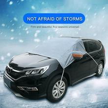 Зимние водонепроницаемые автомобильные чехлы, покрытие на лобовое стекло автомобиля, утолщенное, анти-морозное, уличное, снежное стекло, снежное покрытие, уличное, автомобильные аксессуары
