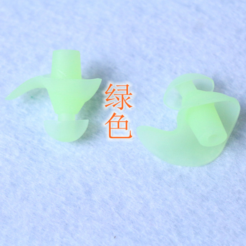 1Pair Ear Plug Silicone Ear Protection Earplugs For Sleeping Foam Plug Anti-Noise Ear Protectors Noise Reduction Ear Protection