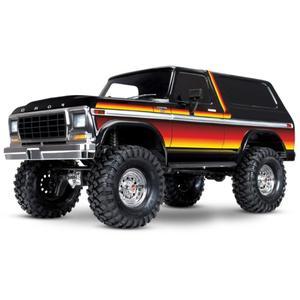 Корпус для радиоуправляемого автомобиля rccity Retro, колесное основание 313 мм для 1/10 Traxxas TRX4 Ford Bronco Axial SCX10 90046 90047