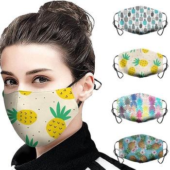 Fashion Print Breathable Print Washable Face Cotton Health Care Face Reusable Sport Bike Dropship Health Care Accessories#K40