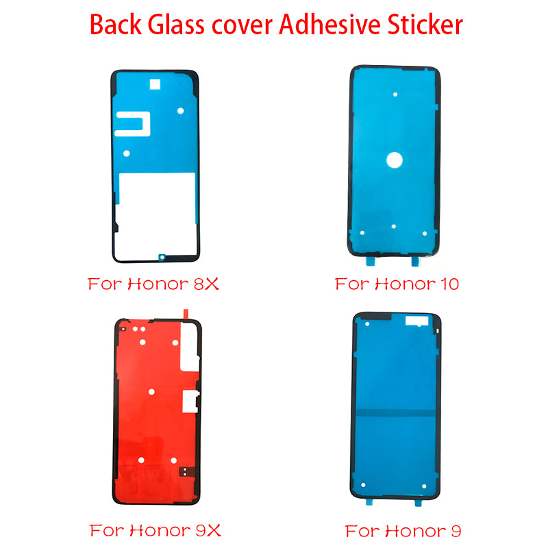 2 Pcs/lot New Back Battery Cover Door Sticker Glue Tape For Huawei Honor 9 10 8X 9X 20 20i Nova 3 4 P30 Pro P10 P20 Lite