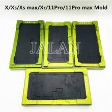 범용 LCD 스크린 유리 라미네이팅 몰드 ip X/Xs/Xs max/Xr/11Pro/11Pro max LCD 디스플레이 수리 용 플렉스 케이블 구부러진 필요 없음