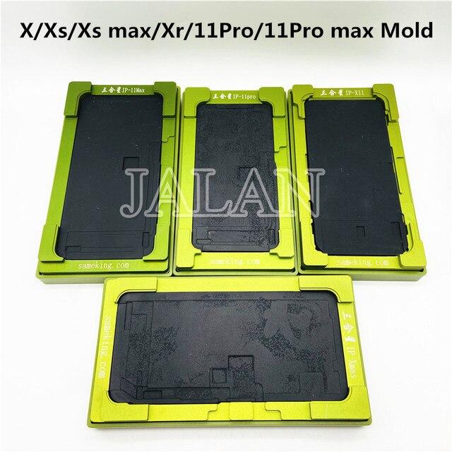 Molde de laminación para pantalla LCD de cristal Universal, no es necesario doblar el cable flexible para reparación de desmontaje LCD ip X/Xs max/Xr/11Pro/11Pro max