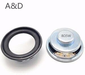 Image 1 - 2 adet akustik hoparlör 8 Ohm 5W 8R 50MM 5CM hoparlör dahili manyetik 13 çekirdek 18MM manyetik 18MM
