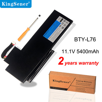 KingSener BTY-L76 Laptop Battery For MSI GS70 MS-1771 MS-1772 MS-1774 2QC-019XCN For Medion Erazer X7615 X7613 5400mAh ssea new cpu fan for msi gs70 gs72 ms 1771 ms 1773 gtx 765m laptop cpu cooling fan paad06015sl n285