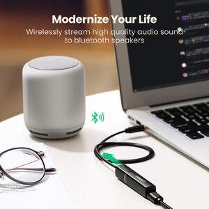 Image 2 - UGREEN nadajnik Bluetooth 5.0 bezprzewodowy Audio muzyka APTX LL krótki czas oczekiwania 3.5mm Aux Jack cyfrowy optyczny dla Adapter słuchawek