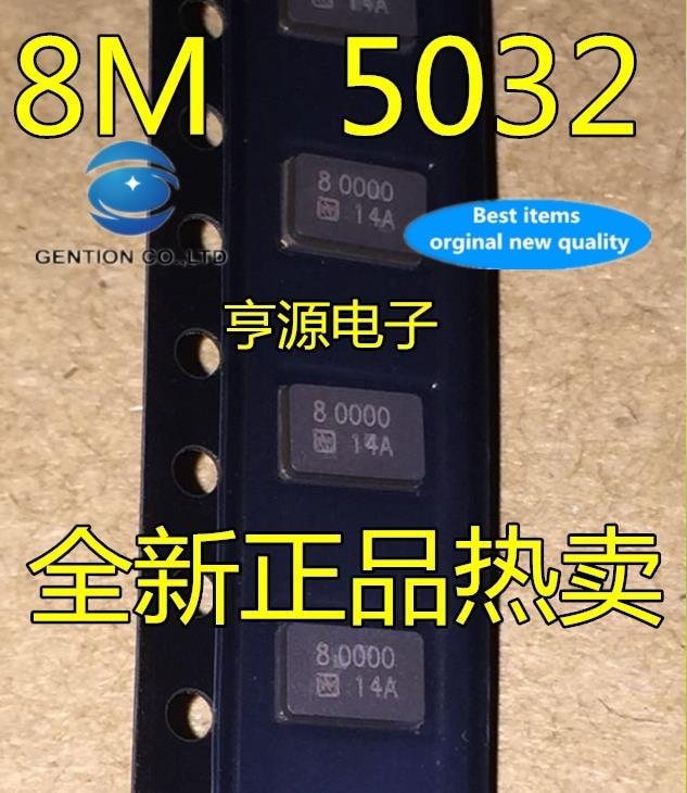 30 шт., 100% оригинальный новый, в наличии, может ли NDK 5032 2 p 8 m 8 МГц 8,000 МГц, Пассивный NX5032GA 2 фута
