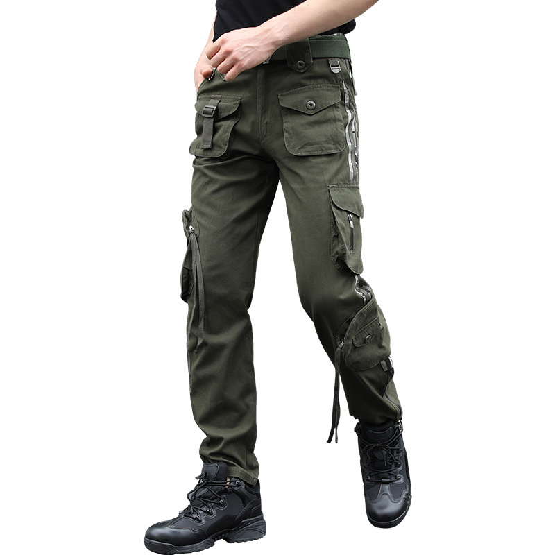 New Camo Cargo Multi Pocket Pants 1