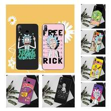 PENGHUWAN Rick And Morty Funny Cartoon Comic Memes Phone Case Cover For Samsung A10 A20 A30 A40 A50 A70 A71 A51 A6 A8 2018(China)