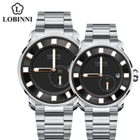 Switzerland Couple Watches Luxury Brand Lover Watches Men Woman Japan Miyota Mechanical Watch Automatic Clock Sapphire relogio
