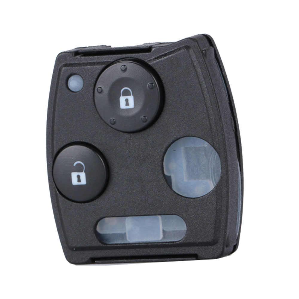 OkeyTech için Honda Accord Civic 2008 CRV Pilot Fit caz Odyssey oto araba anahtar kovanı kapak Fob Pad 2/3 düğme aksesuarları