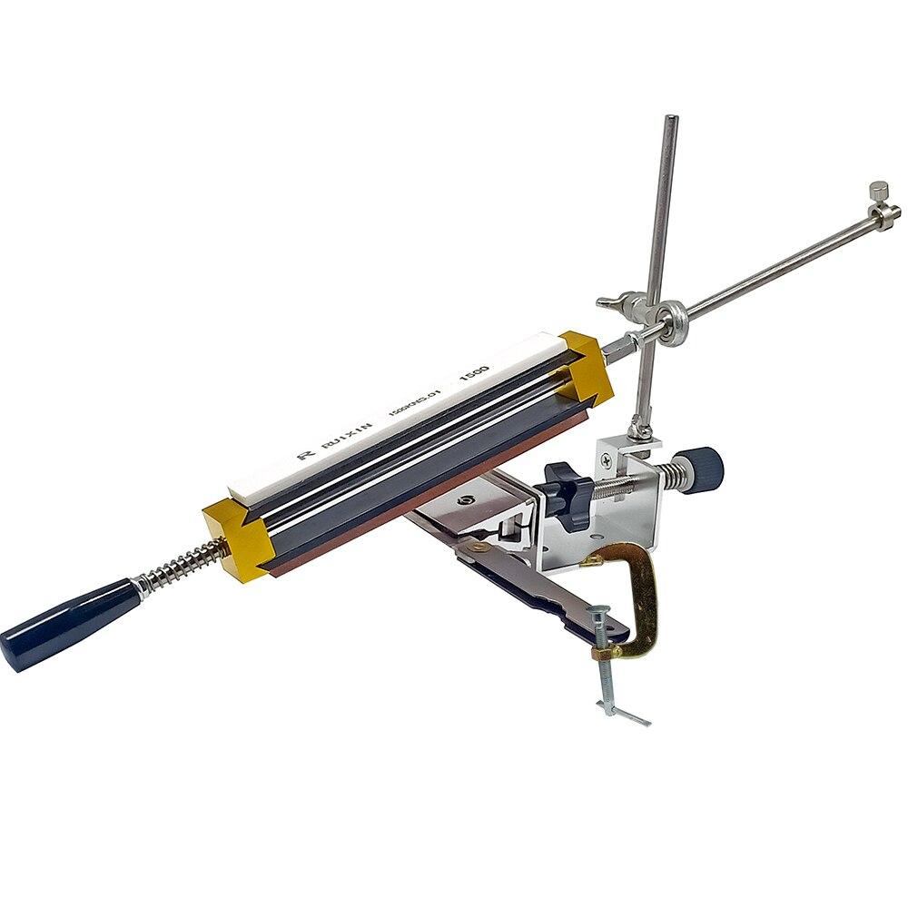 Küche arbeitsplatte KME flip küche messer spitzer schärfen system festen winkel Rand pro spitzer mit 4 stücke schleifstein