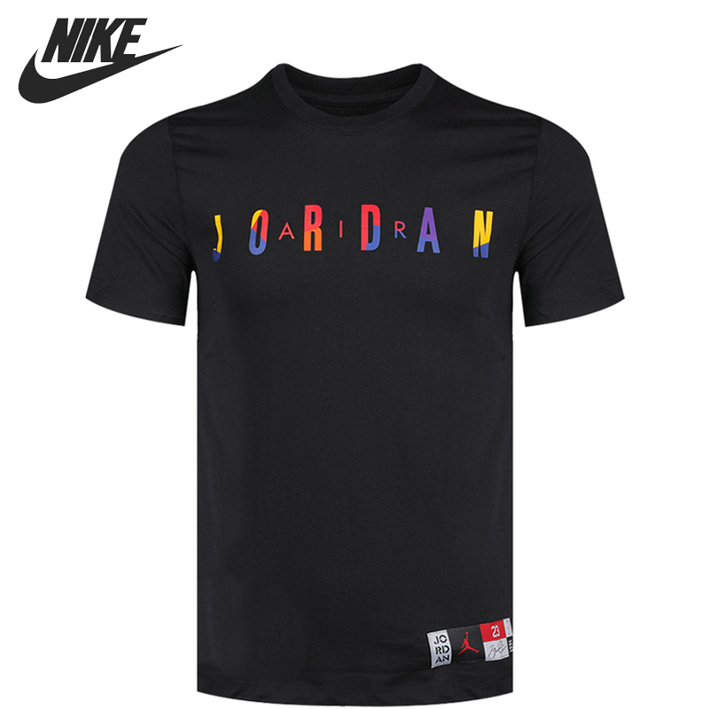 Original New Arrival  NIKE AS  SPRTDNA HBR SS CREW  Men's T-shirts short sleeve Sportswear