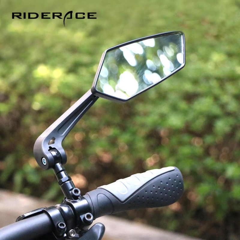 Bicycle Handlebar Mirror Bicycle Bike Rearview Wide Range Back Sight Adjustable