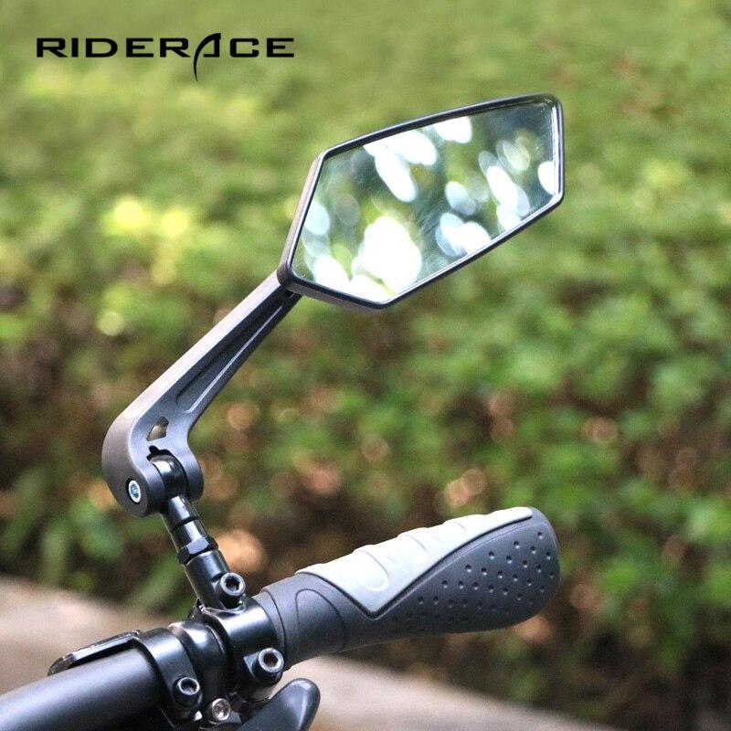 Rétroviseur vélo vélo cyclisme clair large portée rétroviseur réflecteur guidon réglable rétroviseurs gauche droit