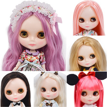 Neo Blyth Doll NBL Customized Shiny Face,1/6 BJD Ball Jointed Ob24 for Girl, Toys Children NBL09