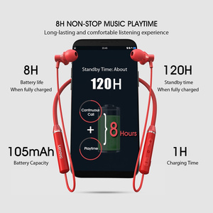 Image 5 - Casque Bluetooth Lenovo HE05 écouteur Bluetooth sans fil BT5.0 casque anti transpiration sport IPX5 avec micro anti bruit Earp