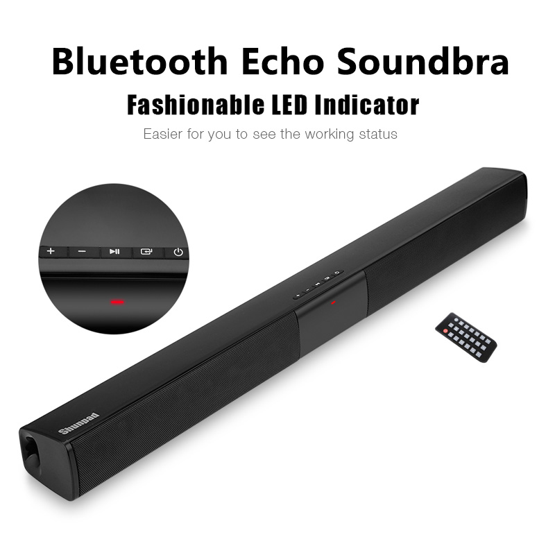 20W <font><b>TV</b></font> Bluetooth Echo Soundbra Wired Wireless Bluetooth <font><b>Speaker</b></font> Column System Music Center Boombox 3D Stereo <font><b>for</b></font> PC Home Theater image