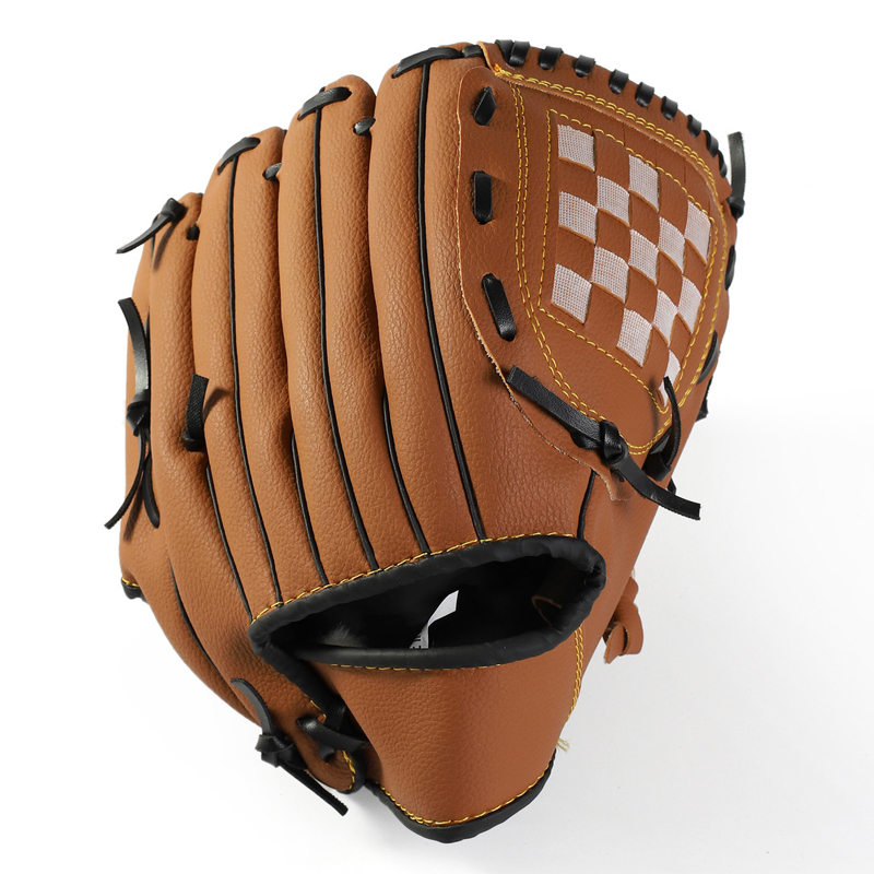 Pitcher Left Hand BQST01 Baseball Gloves PU Leather 10.5 inch//11.5 inch//12.5 inch for Kids//Youth//Adult Field Thicken Baseball Gloves
