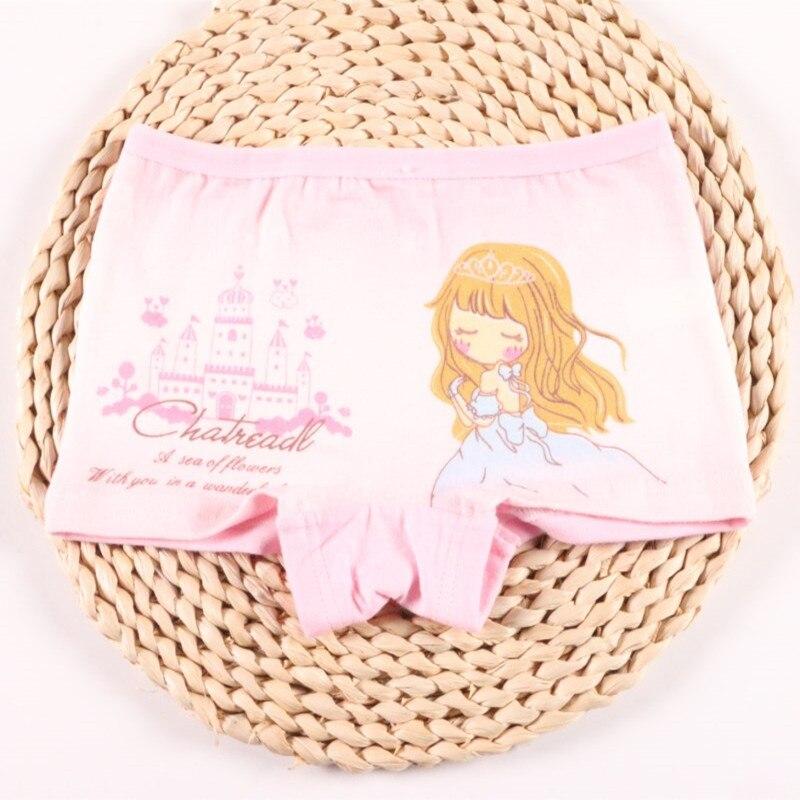 4pcs/Lot Cute Pants For Girls Cotton Underwear Boxer Children's Kids Shorts Clothing 5