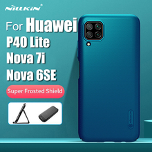 For Huawei P40 Lite Case Cover NILLKIN Fitted Cases For Huawei  Nova 7i Case Super Frosted Shield For Huawei Nova 6SE Cover