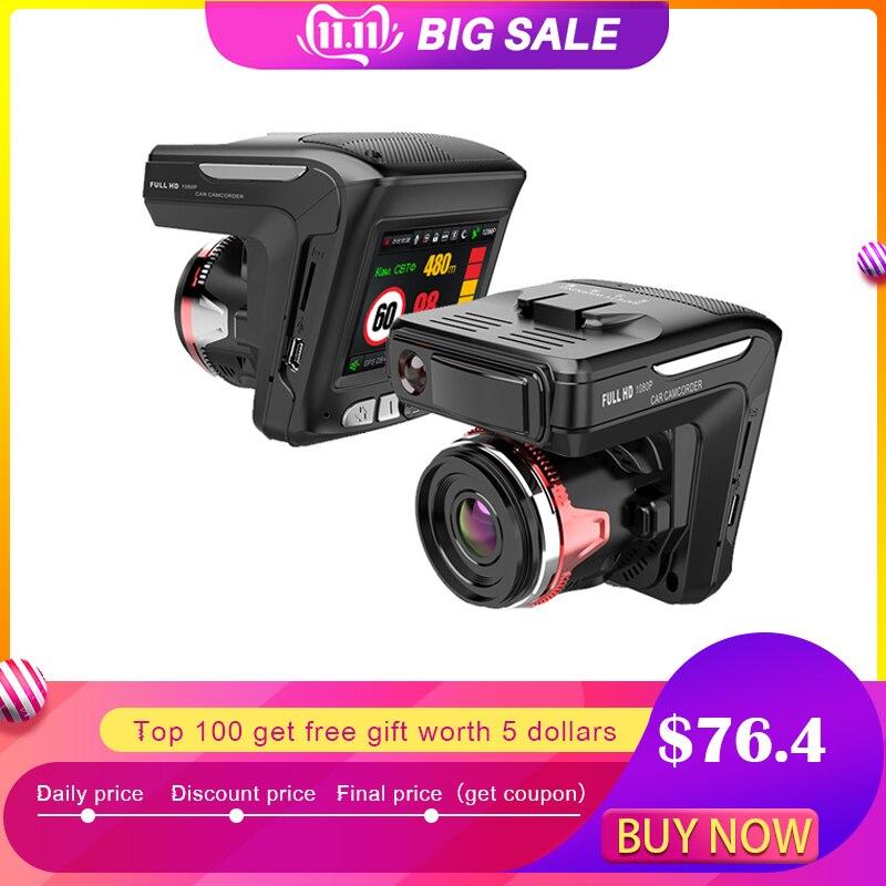 Dash cam XPX G565-STR Car dvr 3 in 1 GPS Radar Dvr  DVR camera Full HD 1296P G-srnsor Video recorder with antiradar