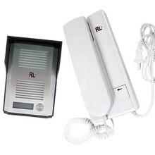Дверной звонок с аудиосистемой, 2-проводная система внутренней связи