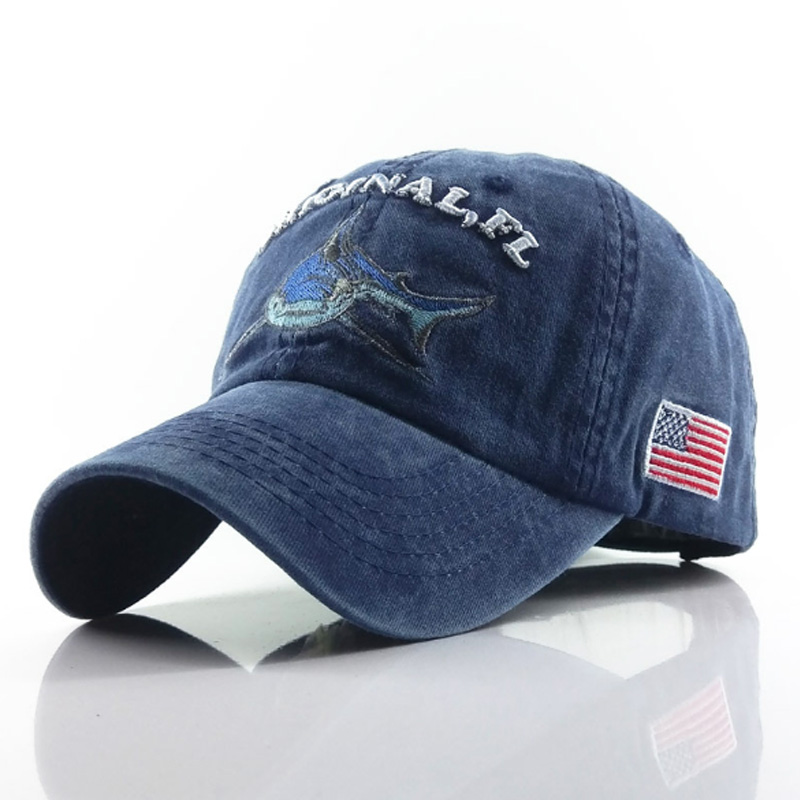 Wholsale 100% Washed Cotton Men Baseball Cap Fitted Caps Snapback Hat For Women Retro Bone Casual Casquette Gorra Homme
