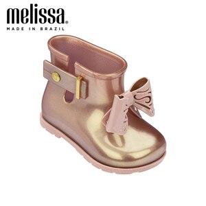 Mini Melissa Sugar Rain/желеобразная обувь для мальчиков и девочек; Непромокаемые сапоги; Новинка 2020 года; Детская обувь; Melissa Rainboot для детей; Нескользя...