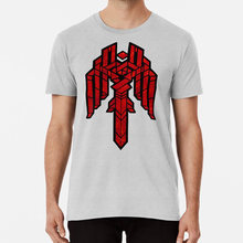 De Stad Van Kettingen T-shirt Kirkwall Dragon Age Da2 Mozaïek Fantasy Video Game Gamer Bioware Geekyjez Geeky Jez(China)