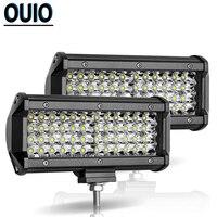 40 LED Work Light Bar Offroad 7 Inch 144 Watt Led Driving Light Motorcycle Auto Lamp 12V 24V DRL Led Car Truck TractorTrailer