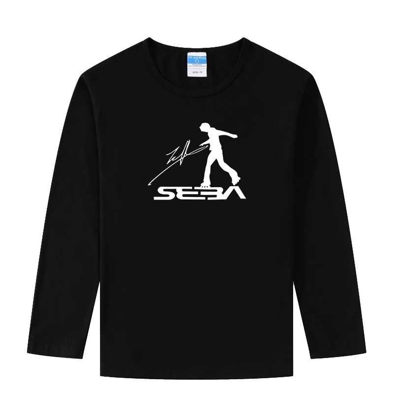 LYTLM XXX enfants filles chemises Skate T-shirt Hip Hop Streetwear T-shirt changeant de couleur garçons à manches longues T-shirt lueur dans les vêtements sombres