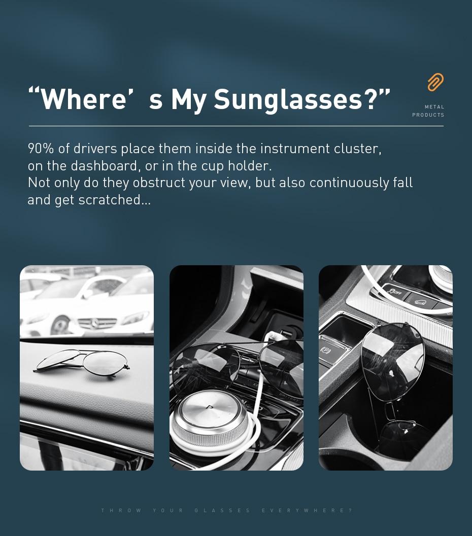 Baseus Platinum Vehicle Eyewear Clip 4