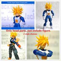 Free Shipping Jacksdo SHF Dragon Ball Super Saiyan Trunks head for Bandai Datong Models