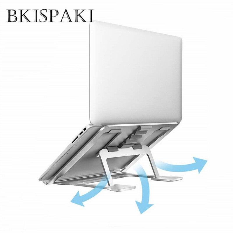 Складной алюминиевый сплав охлаждающий держатель для ноутбука настольная Эргономика Увеличьте поддержку ноутбука для MacBook Air Pro подставка