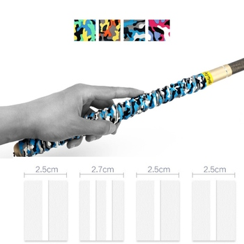 1.1M Non-slip Fishing Rod Tape Wrap Fishing Pole DIY Handle Insulation Waterproof Racket Handle Grip Sweat Absorbing Belt Cover