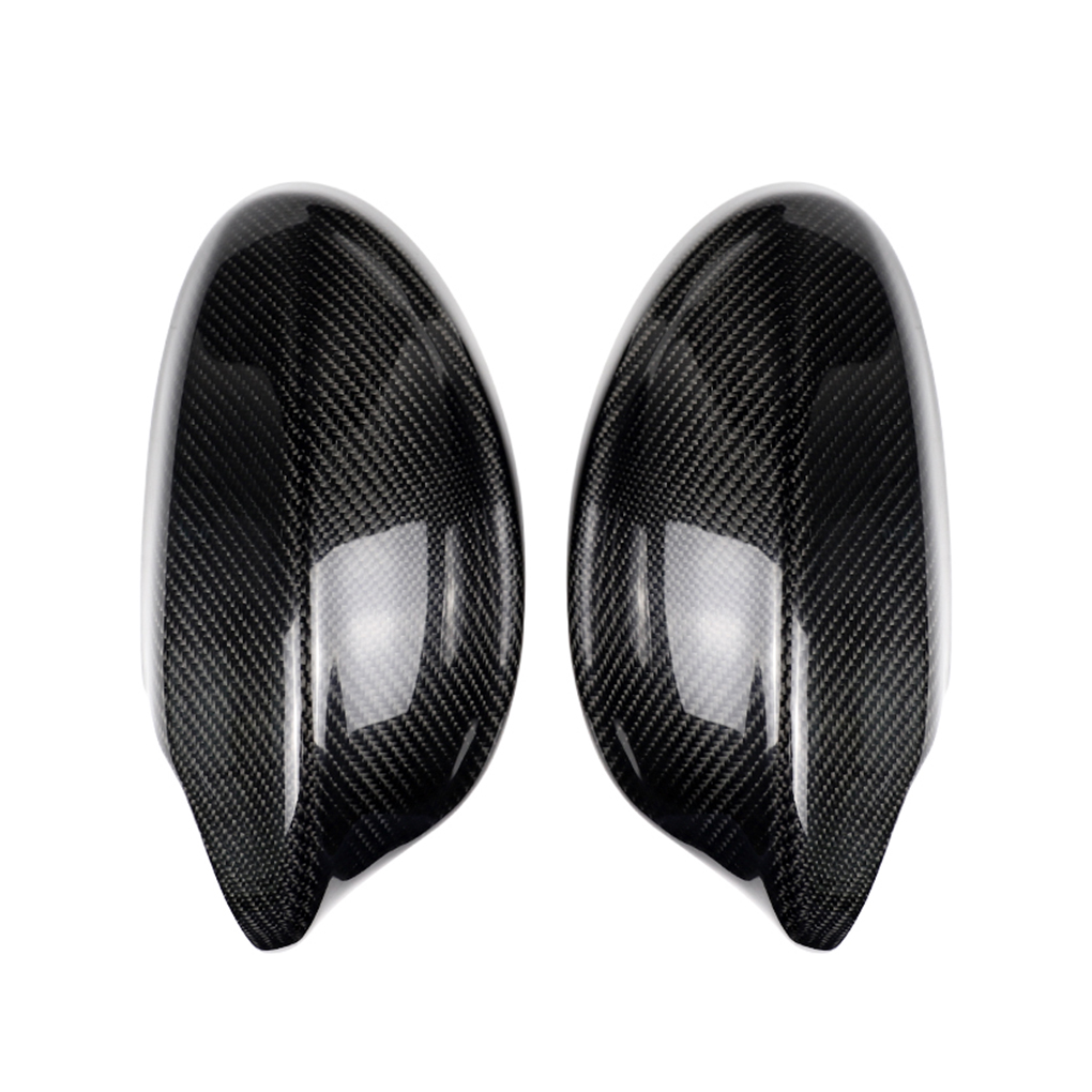 Replacement For BMW E90 2005-2008 1 Pair Car Door Side Mirror Housing Carbon Fiber Rearview Mirror Cover Caps