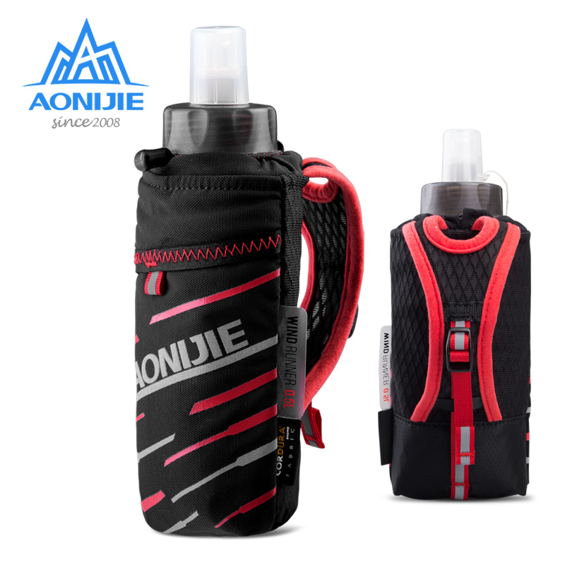 AONIJIE E961 Handheld Quick Grip Quick Stow Flask Water Bottle Carrier Bag 6.8