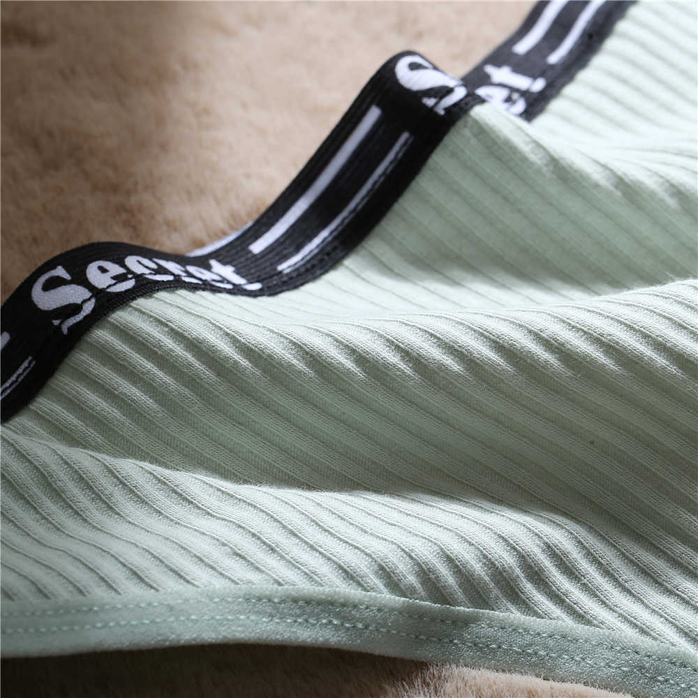 1 Pza. Tanga de algodón de cintura baja para mujer, Tanga Sexy, ropa interior cómoda para mujer