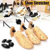BSAID Unisex 1 sztuk prawidła do butów drewniane buty drzewo Shaper Rack, drewno regulowane mieszkania pompy buty Expander drzewa rozmiar S/M/L