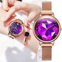 2020 lüks kadın saatler elmas gül altın kristal saat üst marka bayan Casual İzle kadınlar bilezik saatler relogio feminino